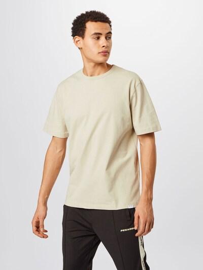 Samsoe Samsoe Тениска 'Hugo' в бежово: Изглед отпред