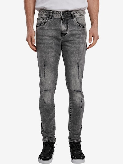 Urban Classics Jeans in grey denim: Frontalansicht
