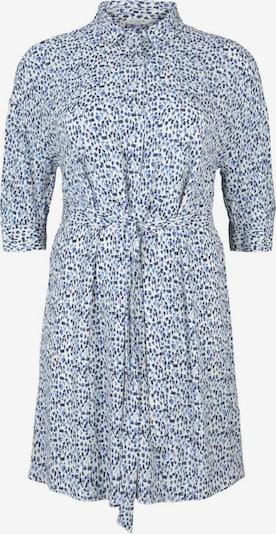 MY TRUE ME Blusenkleid in blau / weiß, Produktansicht