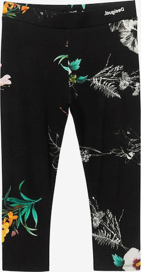 Desigual Leggings 'BOTANIC' in de kleur Gemengde kleuren / Zwart, Productweergave