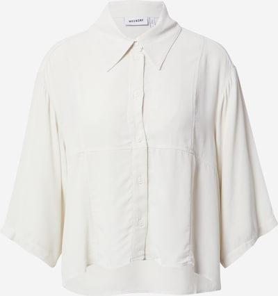 WEEKDAY Blouse 'Heidi' in de kleur Wit, Productweergave