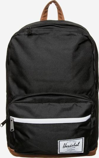 Herschel Sac à dos 'Pop Quiz' en marron / noir / blanc, Vue avec produit