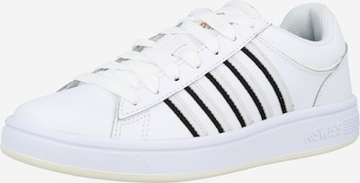 K-SWISS Zapatillas deportivas bajas 'Court Winston' en negro / blanco, Vista del producto