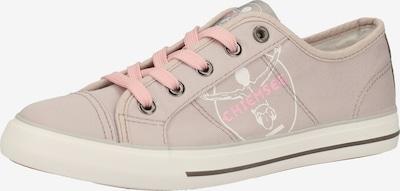 CHIEMSEE Sneaker in beige / pink / schwarz / weiß, Produktansicht