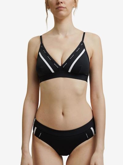 ESPRIT Bikinitop in schwarz / weiß, Modelansicht