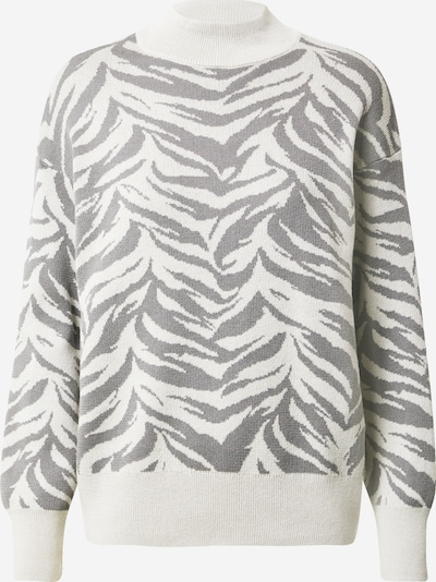 Pullover Trendyol di colore grigio / bianco, Visualizzazione prodotti