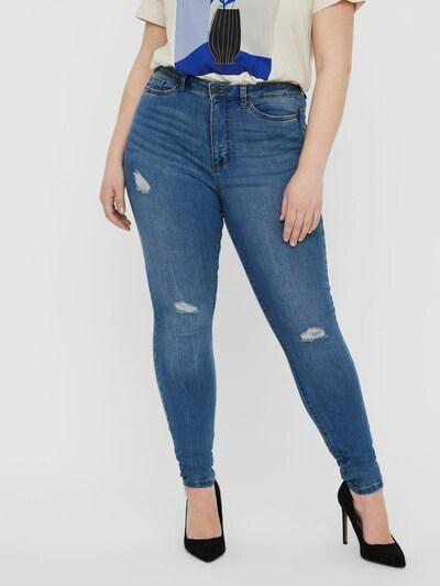 Jeans Vero Moda Curve pe albastru denim, Vizualizare model