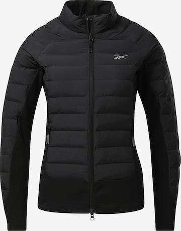 Reebok Sport Athletic Jacket in Black