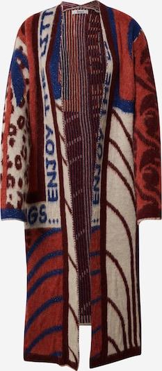 Liebesglück Pleten plašč | bež / modra / jastog / bordo barva, Prikaz izdelka