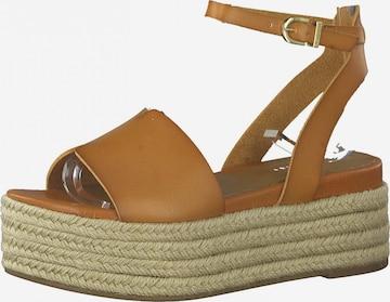 Sandales TAMARIS en marron