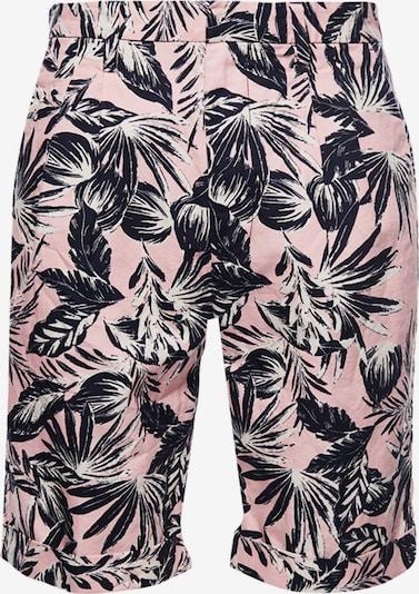 Superdry Shorts in dunkelgrün / rosa / weiß, Produktansicht
