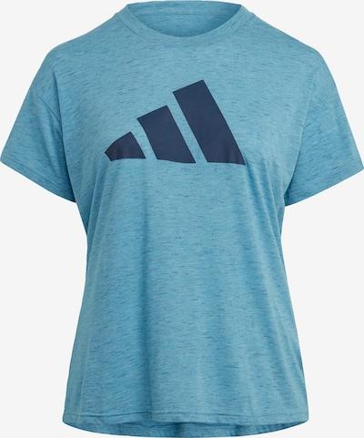 ADIDAS PERFORMANCE Koszulka funkcyjna w kolorze niebieska noc / błękitnym, Podgląd produktu