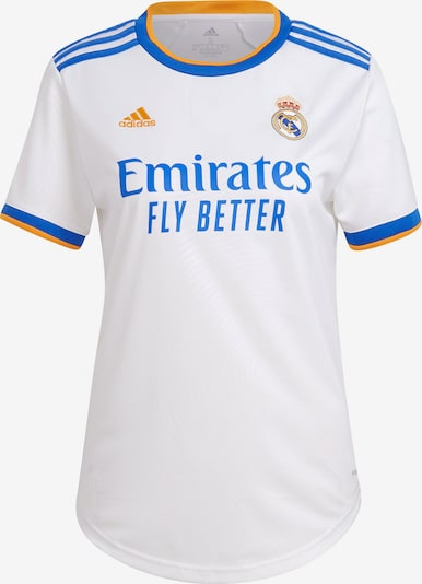 ADIDAS PERFORMANCE Trikot 'Real Madrid 21/22' in blau / gelb / weiß, Produktansicht