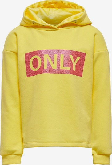 KIDS ONLY Sweatshirt 'Wendy' in gelb / rot, Produktansicht