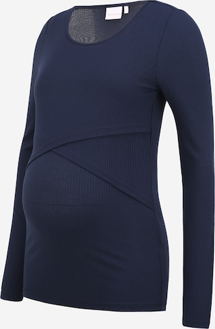 MAMALICIOUS Skjorte 'Carma' i blå
