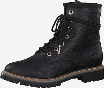 s.Oliver Lace-Up Ankle Boots in Black, Item view