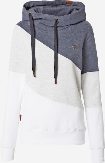 Alife and Kickin Sweatshirt 'Stacy' in marine / braun / hellgrau / weiß, Produktansicht