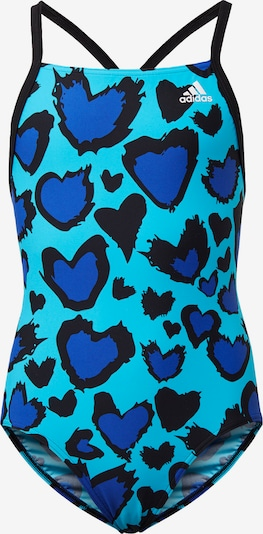 ADIDAS PERFORMANCE Badeanzug in blau, Produktansicht