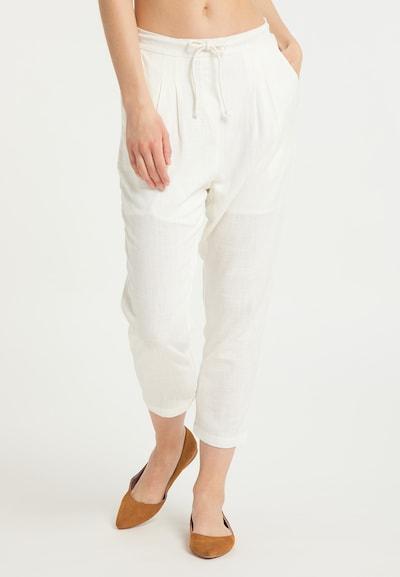 Usha Hose in naturweiß, Modelansicht