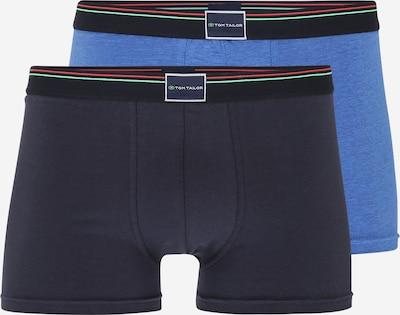 TOM TAILOR Boxershorts in himmelblau / dunkelblau / kiwi / rot, Produktansicht