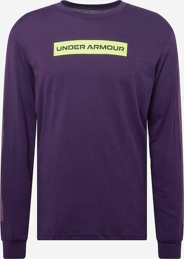 UNDER ARMOUR Toiminnallinen paita värissä neonkeltainen / tummanvioletti, Tuotenäkymä