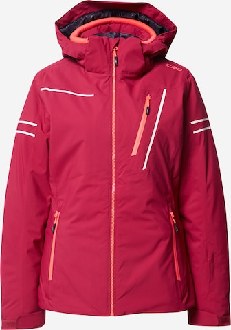 CMP Outdoor Jacket in Red