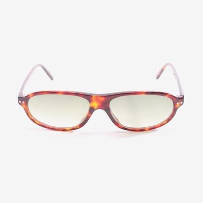 JIL SANDER Sonnenbrille in One Size in dunkelbraun, Produktansicht