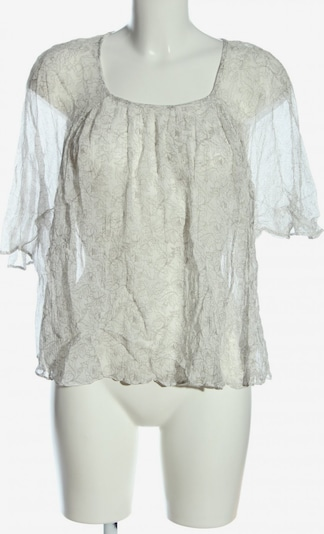 Simclan Kurzarm-Bluse in S in hellgrau, Produktansicht
