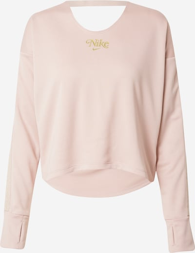 NIKE Sportsweatshirt in gold / rosa, Produktansicht