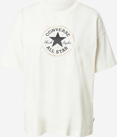 CONVERSE Shirt in Light beige / marine blue / White, Item view