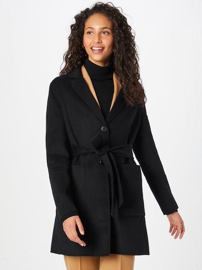 Twinset Manteau mi-saison 'Cappotto' en noir, Vue avec modèle