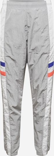 NIKE Sporta bikses zils / pelēks / neonoranžs / balts, Preces skats