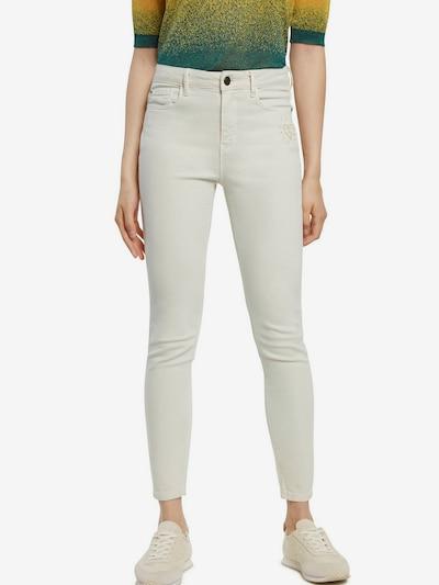 Desigual Pantalon 'ALBA' en blanc, Vue avec modèle