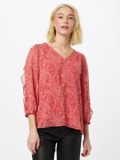 Maison 123 Bluse 'TENERIS' in pitaya / altrosa, Modelansicht