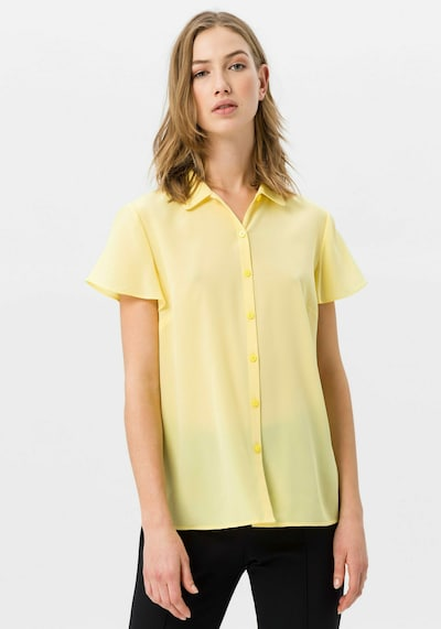 Uta Raasch Bluse mit Seide in gelb, Modelansicht
