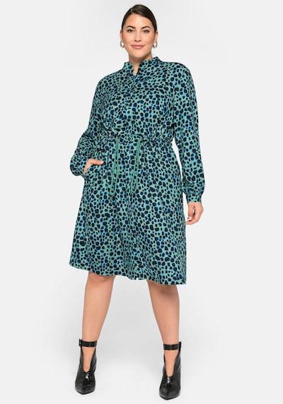 SHEEGO Košilové šaty - zelená, Model/ka