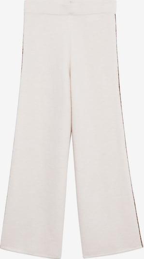 MANGO Pantalon 'Picasso' en nude / marron, Vue avec produit