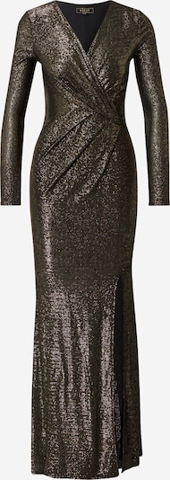 Lipsy Avondjurk in de kleur Goud / Zwart, Productweergave