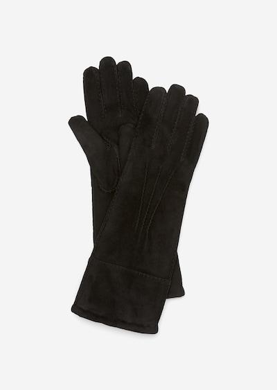 Marc O'Polo Full Finger Gloves in Black, Item view
