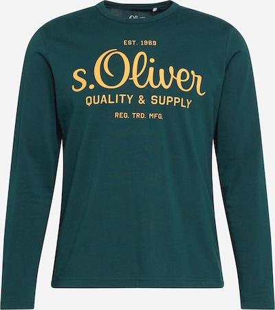s.Oliver T-Shirt en jaune / émeraude, Vue avec produit