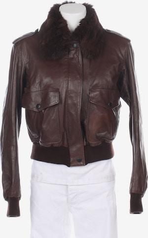 MOSCHINO Jacket & Coat in M in Brown
