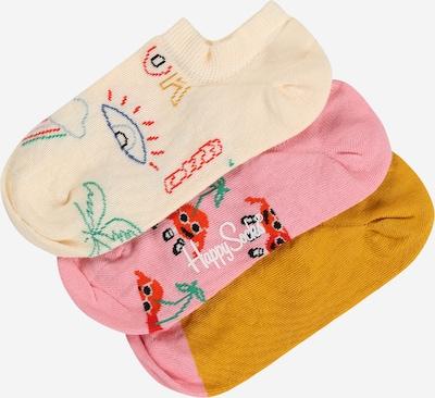 Happy Socks Socken in honig / mischfarben / pink / rosa, Produktansicht