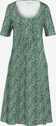 Green Cotton Jerseykleid mit 1/2-Arm aus 100% Baumwolle in mischfarben: Frontalansicht