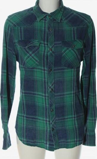 SMOG Co. Langarmhemd in S in blau / grün, Produktansicht