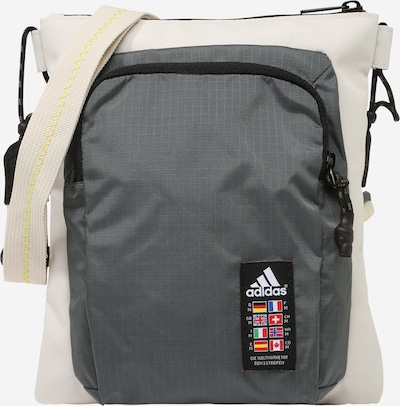 Sportinis krepšys iš ADIDAS PERFORMANCE , spalva - smėlio / tamsiai pilka, Prekių apžvalga