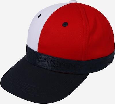 TOMMY HILFIGER Chapeau en marine / rouge / blanc, Vue avec produit