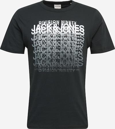 JACK & JONES Koszulka 'CLUB' w kolorze szary / czarny / białym, Podgląd produktu