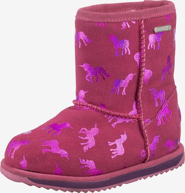 EMU AUSTRALIA Snowboots 'RAINBOW' in Pink