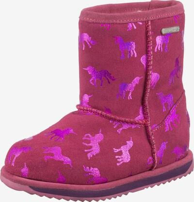 EMU AUSTRALIA Snowboots 'RAINBOW' in pink / silber, Produktansicht