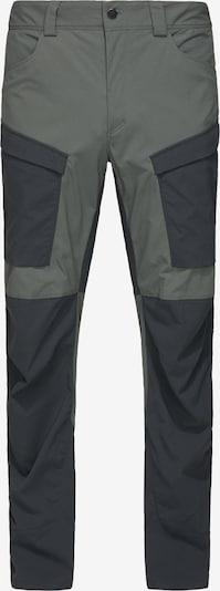 Haglöfs Outdoorhose 'Mid Fjord' in dunkelgrau / schwarz, Produktansicht